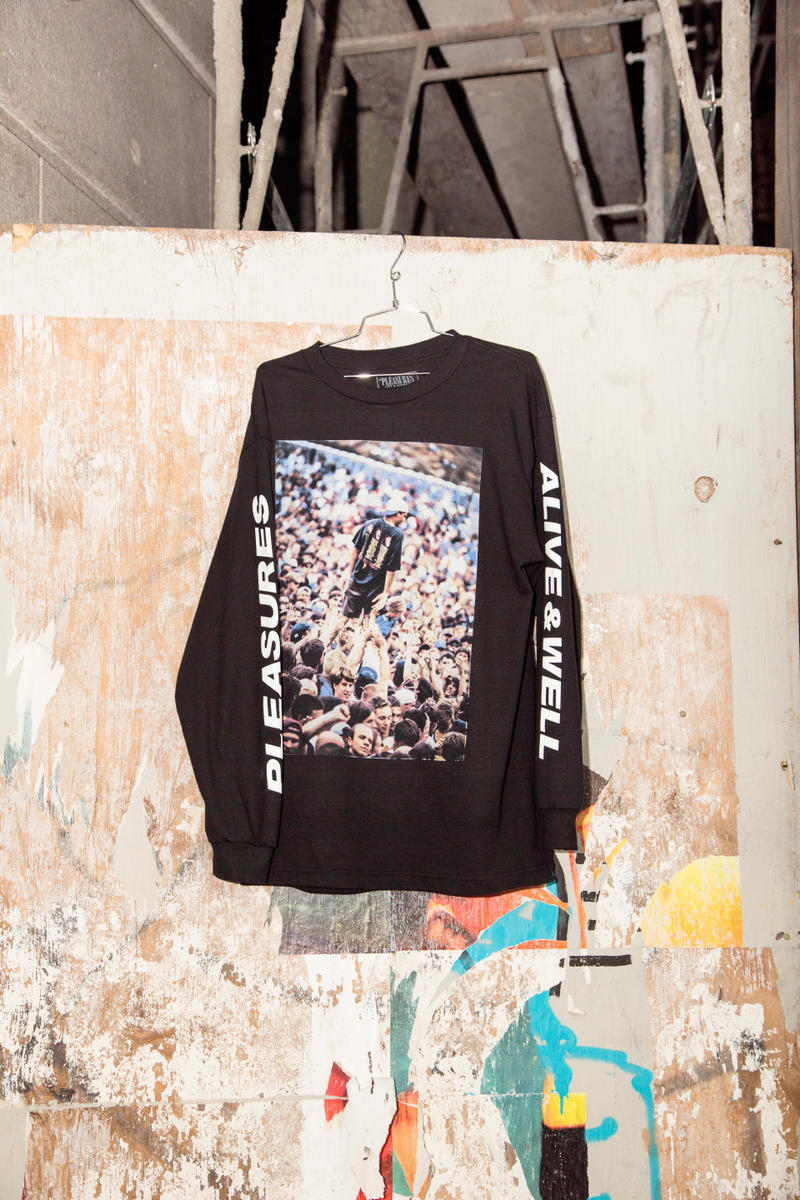 Alive & Well x PLEASURES Capsule Collection Lancer Mercer