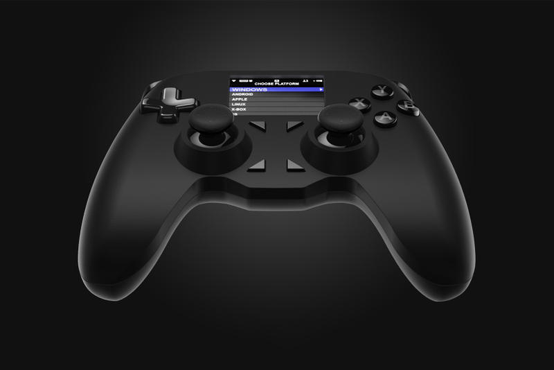 All Controller Universal Video Game Controller Gamepad Pad Kickstarter PS3 PS4 PlayStation 3 4 Xbox 360 One Windows PC Apple Mac iOS Android