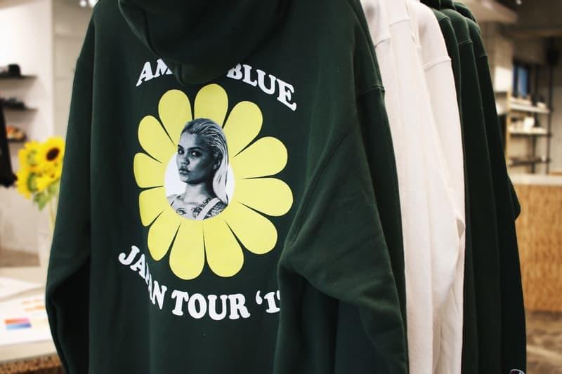 Amina Blue 335mm Pop Up Shop Nubian Japan Tour 2017 kanye west model yeezy season photography photographer portraits pictures