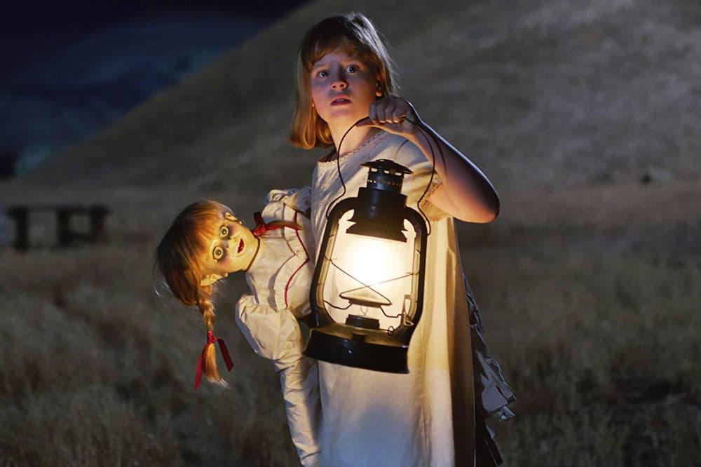 Annabelle: Creation Horror Movie Cinematographer James Wan Maxime Alexandre David F. Sandberg