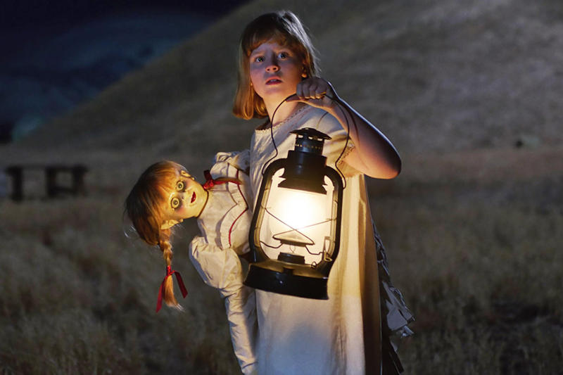 Annabelle: Creation Horror Movie Cinematographer James Wan Maxime Alexandre David F. Sandberg