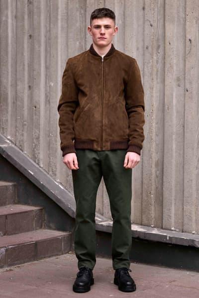 Louis W. x A.P.C. 2017 Fall/Winter Lookbook Outerwear Sweaters