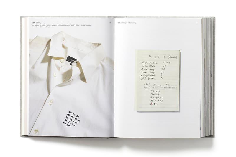 APC Transmission 30th 30 anniversary book t-shirts tees Jean Touitou photography photographs
