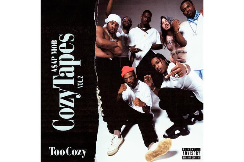 ASAP Mob Announces Cozy Tapes Vol 2 Release Date ASAP Rocky ASAP Ferg ASAP Twelvyy