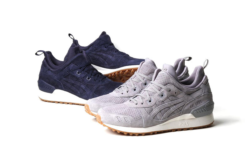 ASICS GEL Lyte MT Grey Navy Suede Gum Sole Aluminum Peacoat Sneakers Shoes Footwear 2017 August Release Date Info Premier