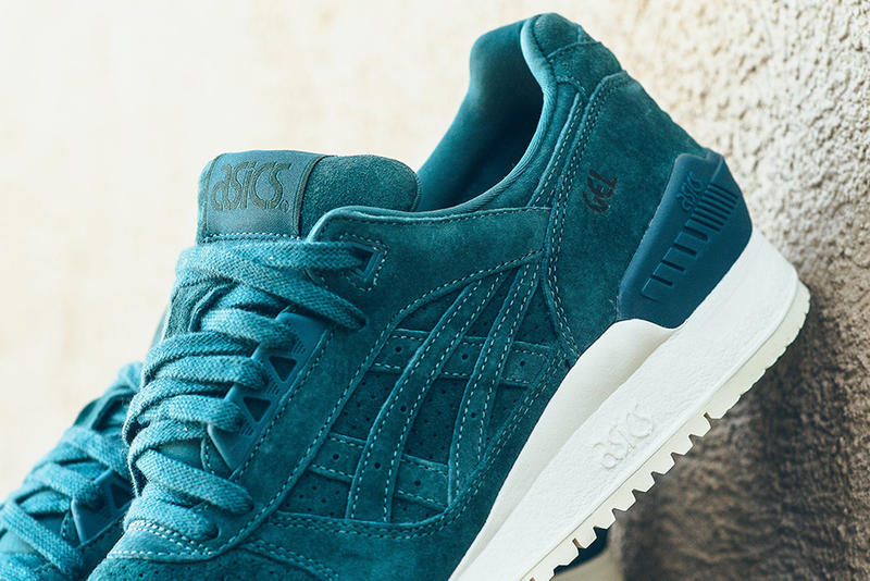 ASICS Gel Respector Deep Teal White Colorway
