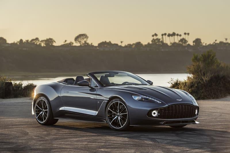 Aston Martins Unveils New Vanquish Zagato Models HYPEBEAST - New aston martin zagato