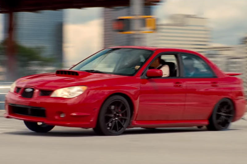Red Subaru Impreza WRX From Baby Driver Sells On eBay for $69,000 USD