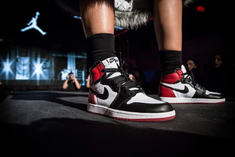 Air Jordan 1 Banned Top 3  Black Toe 2017 August 9 Restock Nike SNKRS App