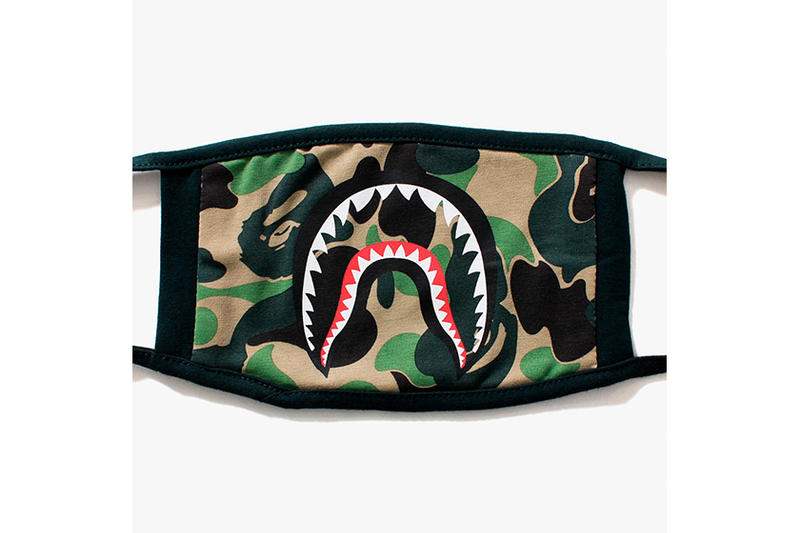 BAPE A Bathing Ape ABC Camo Shark Mask
