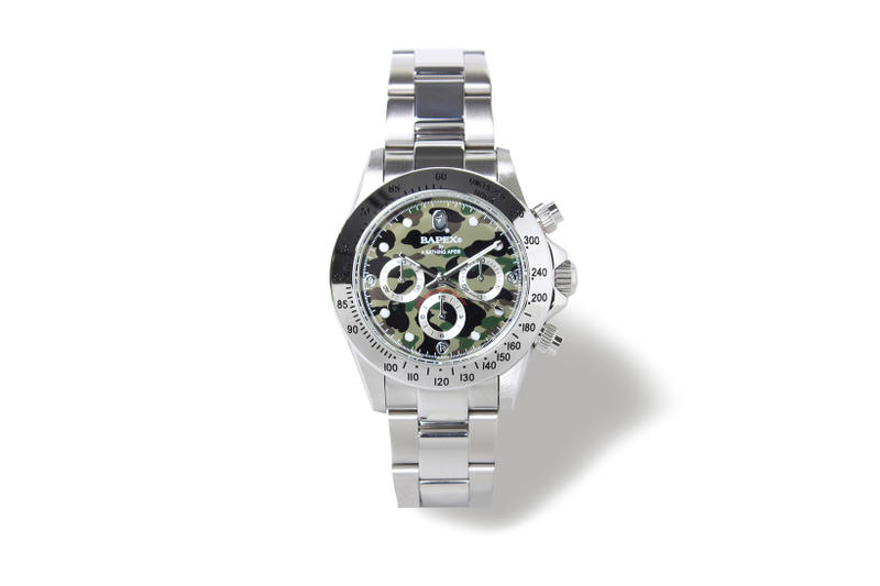 BAPE BAPEX A Bathing Ape Type 1 3 1st Camo Camouflage Watch Watches 2017 August 19 Release Date Info