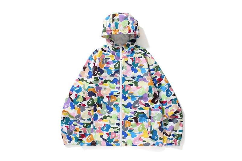 1814959d0 A Bathing Ape BAPE Multi Camo 2017 August 19 Jacket Shark Hoodie Tee T Shirt  Ape