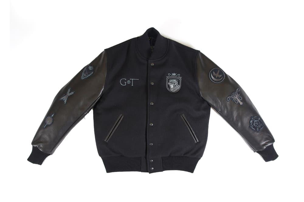 BBC Varsity Jacket Game of Thrones Rep The Realm Billionaire Boys Club