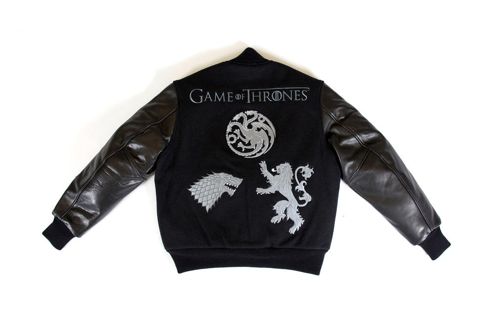 BBC Varsity Jacket Game of Thrones Rep The Realm Billionaire Boys Club