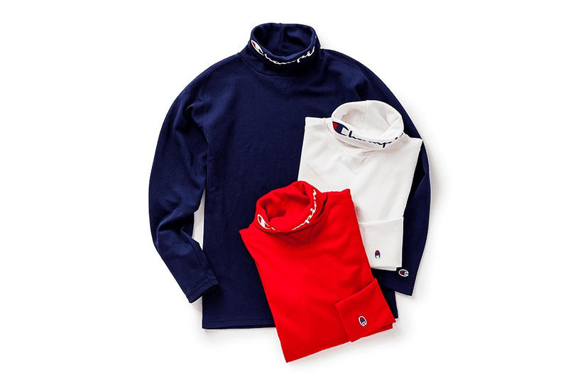 BEAMS Champion Golf Capsule Collection Pullover Jacket Turtleneck T Shirt Tee Polo Pants