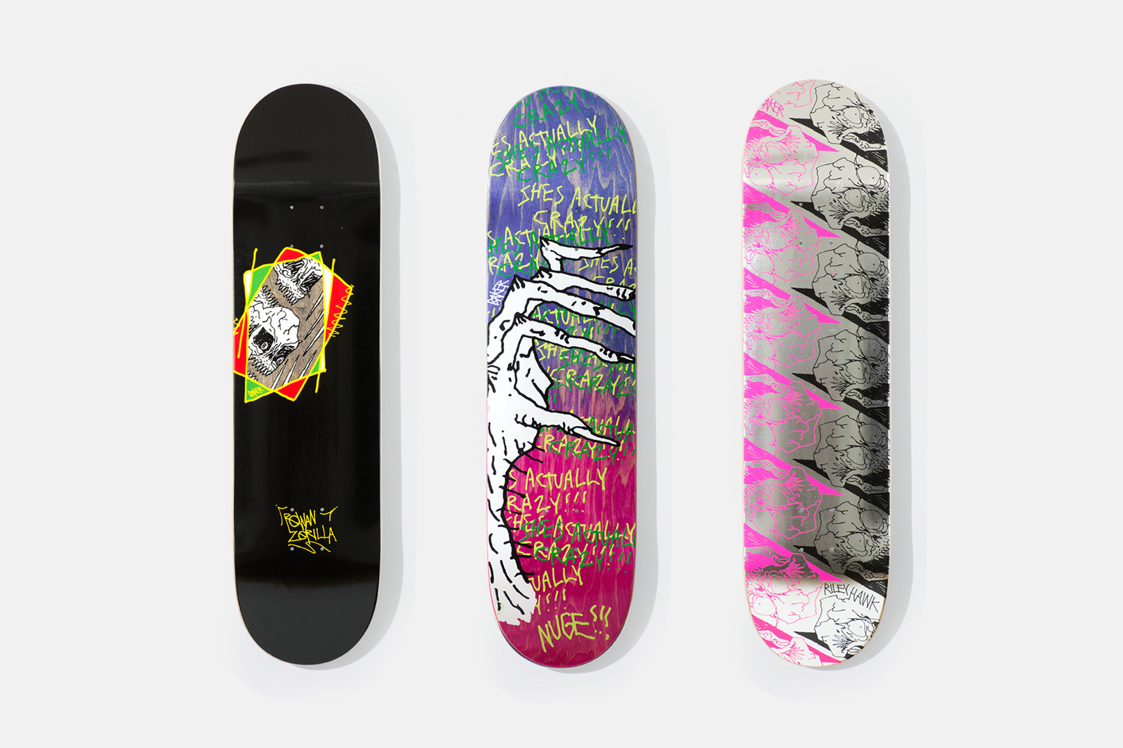 Serdar Bilgili Ai Weiwei Daniel Arsham GucciGhost Neckface Baker Skateboards Artwork Photography Exhibit Installation