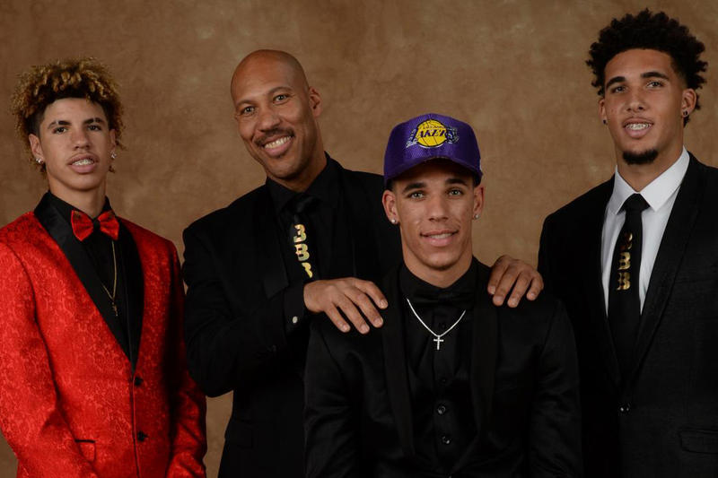 Big Baller Brand Ball in the Family Facebook Show LaMelo Ball LaVar Ball Lonzo Ball LiAngelo Ball Los Angeles Lakers