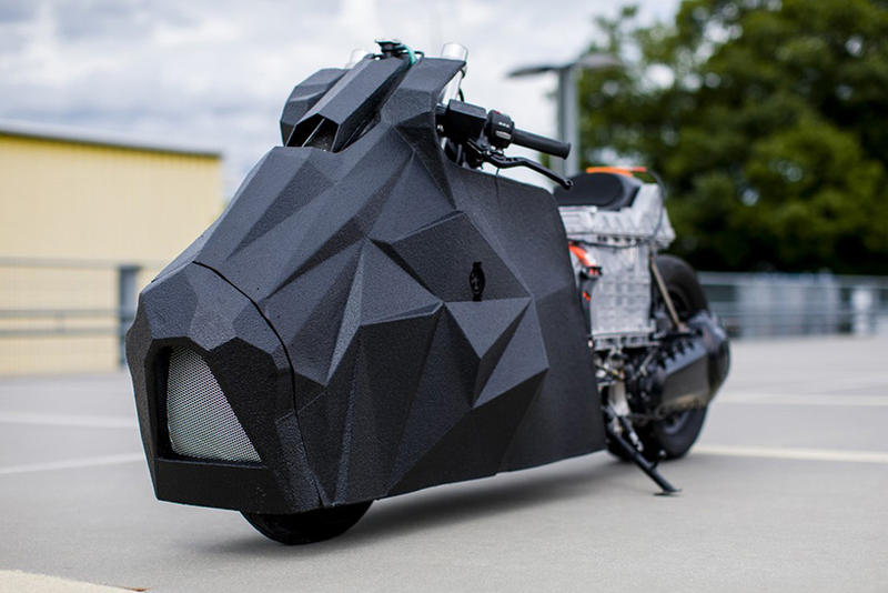Krautmotors Heavy Duty BMW C Evolution Custom Origami