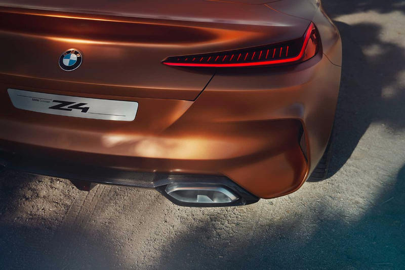 BMW Z4 Concept Leak Images Photos Bimmer Convertible Sports Car European