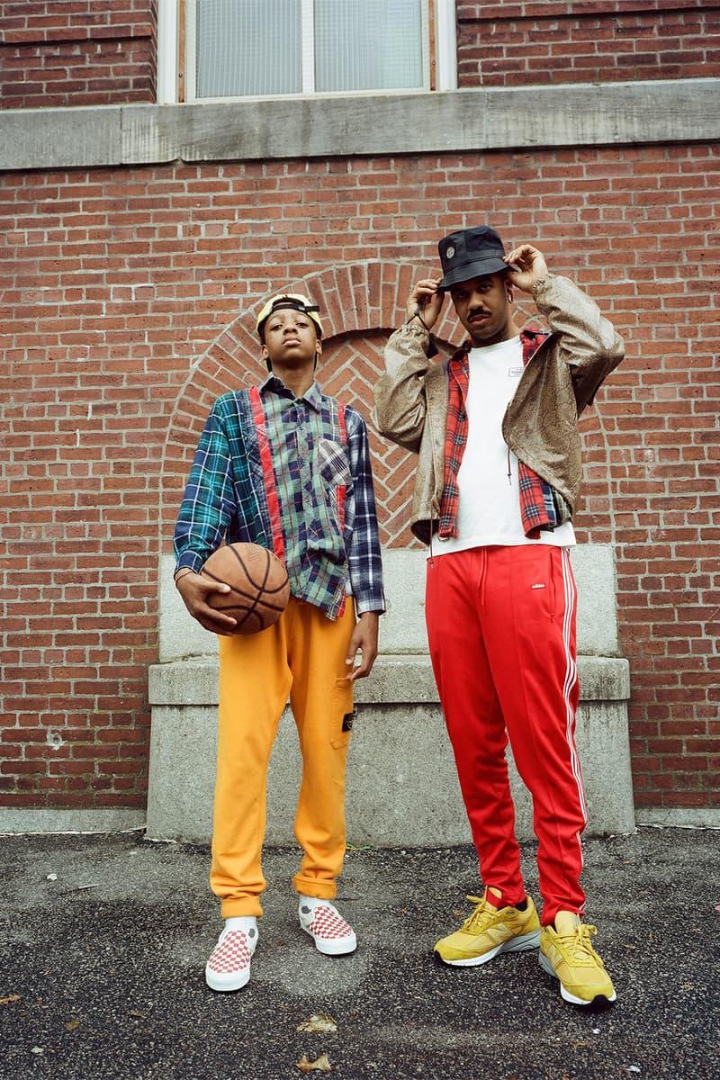 Bodega 2017 August Brothers Editorial Lookbook Needles Neighborhood Stone Island New Balance New Arrivals