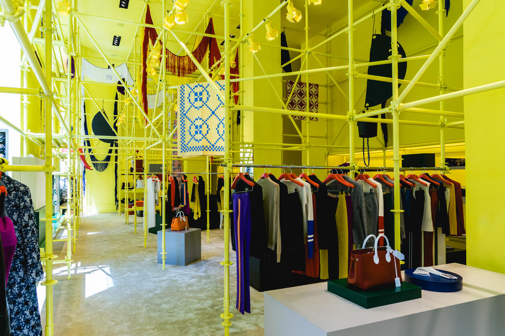 New Calvin Klein Store Sterling Ruby Raf Simons