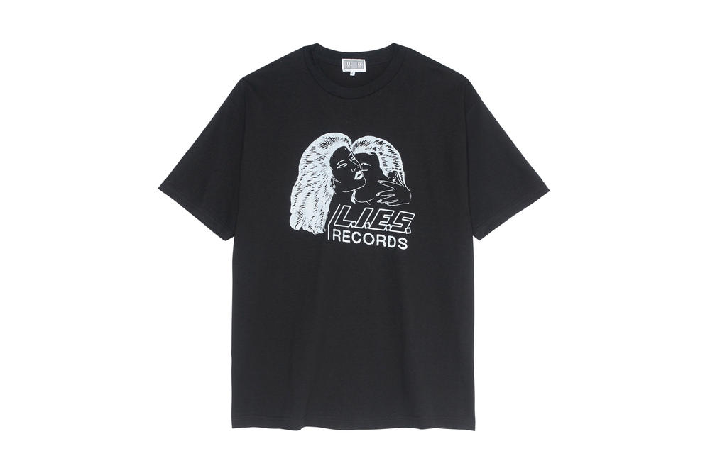 Cav Empt x L.I.E.S. Records T-shirt Capsule Collection