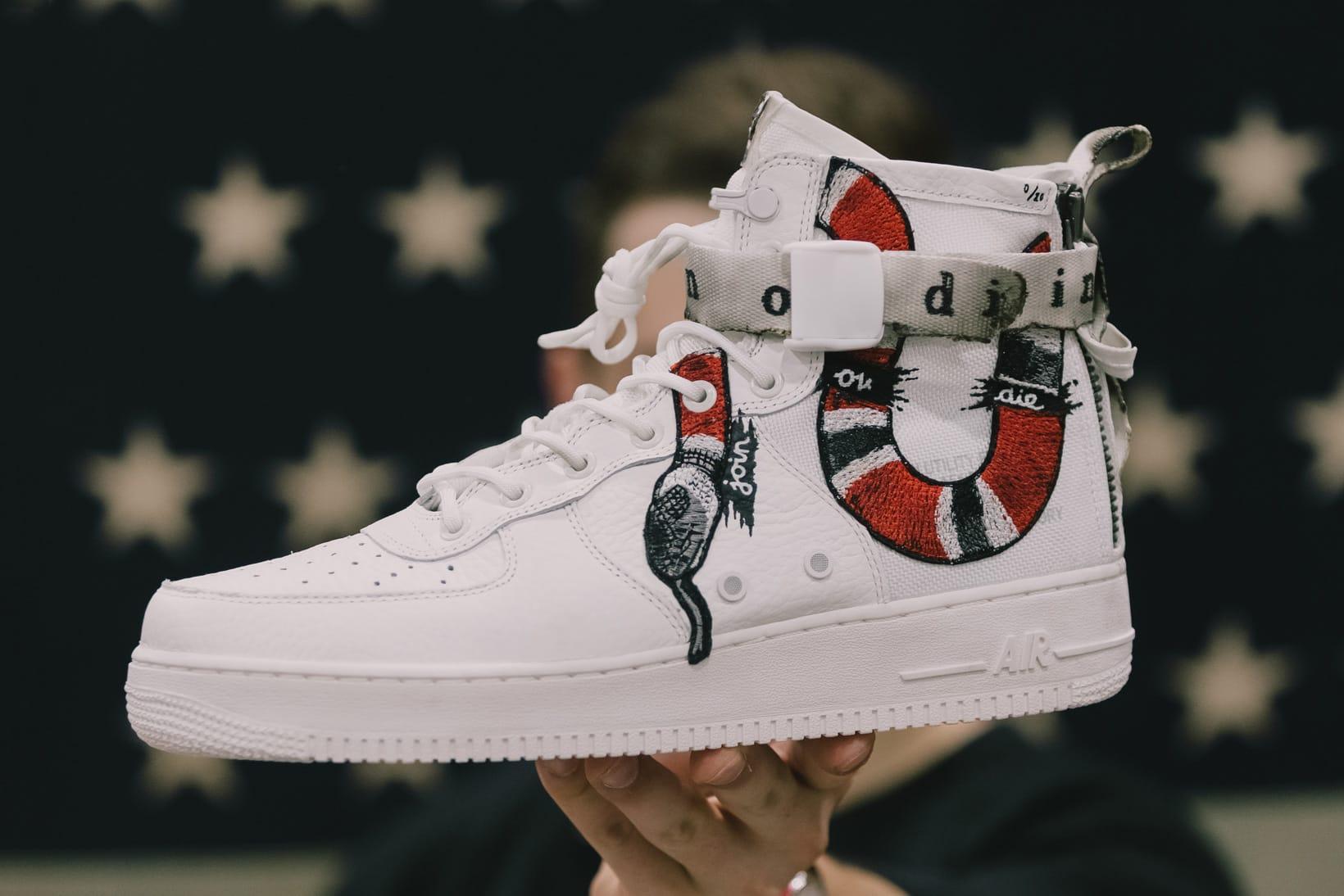 Nike SF-AF1 Join or Die Ceeze Custom