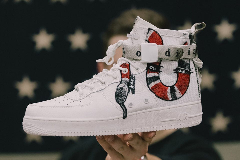Nike Sf Af1 Join Or Die Ceeze Custom Sneakers Hypebeast