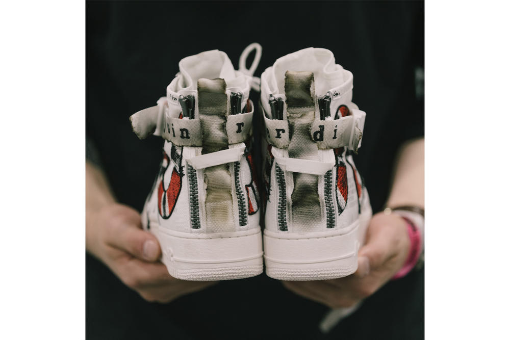 Ceeze Custom Air Force 1 Special Field Join or Die SF AF1 Gucci Snake Distressed Customs Sneakers
