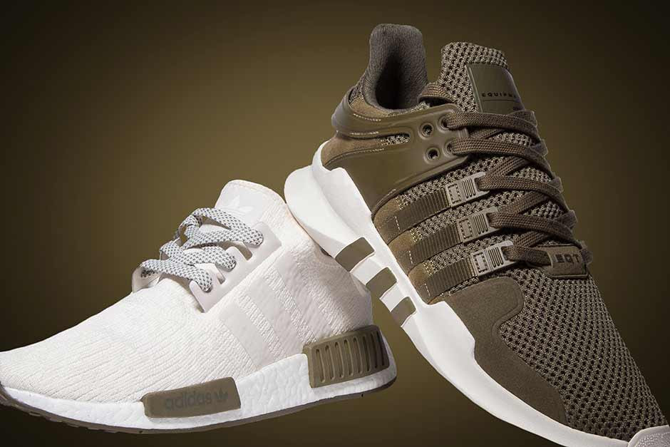 Champs Sports' adidas NMD R1 and EQT
