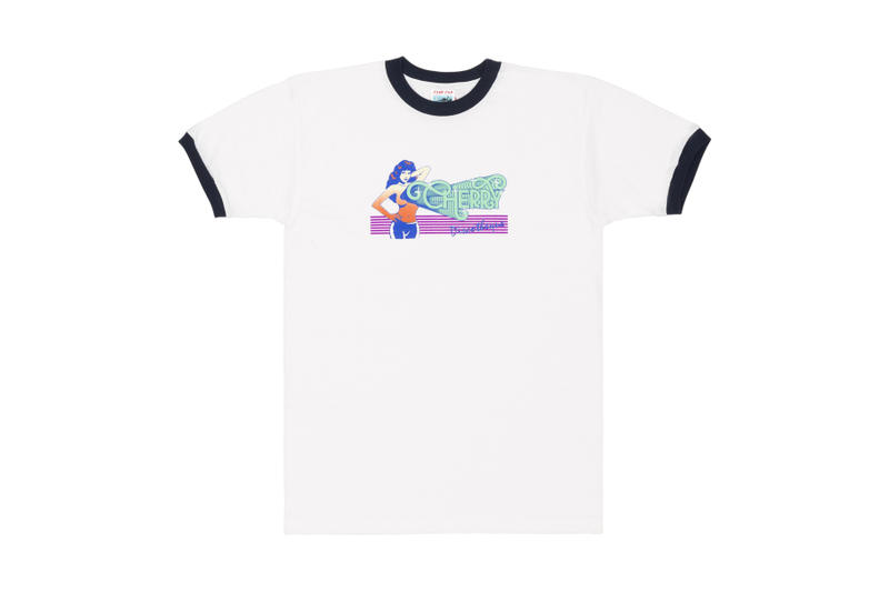 Cherry Discotheque Dover Street Market T-Shirt Capsule Collection Fashion Apparel dsm night club singapore hip-hop