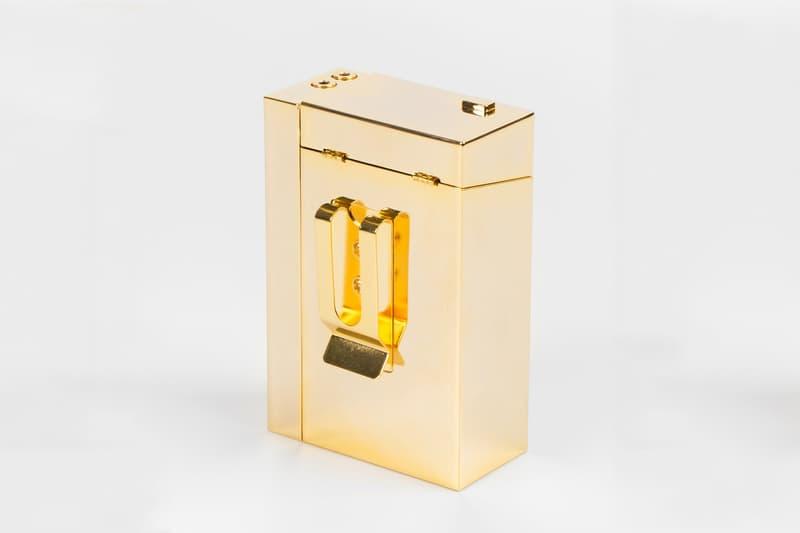 AMBUSH Cassette Player Cigarette Case gold silver
