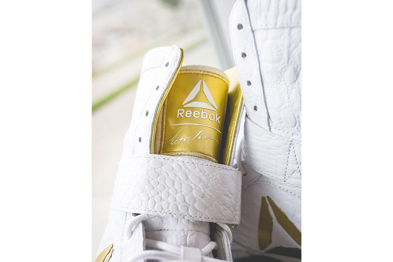 Conor McGregor Custom Reebok Boxing Boots
