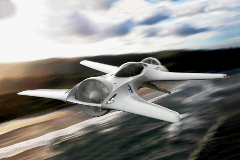 DeLorean Aerospace Flying Car Announcement DR7 DR 7 VTOL