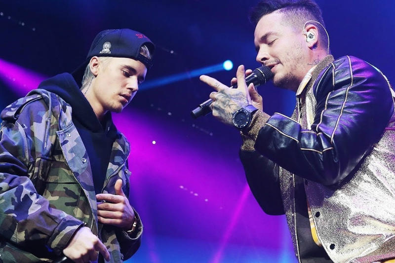 Justin Bieber and Daddy Yankee Perform Despacito