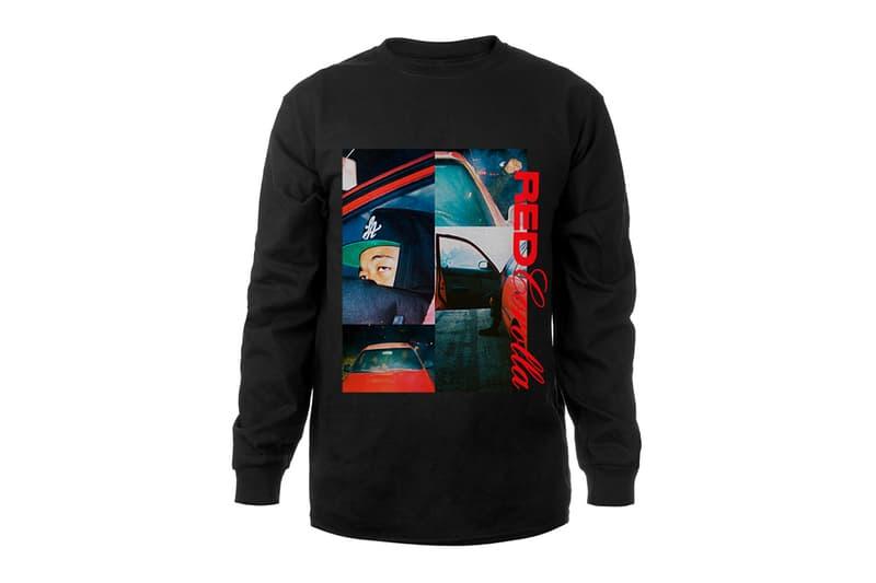 Domo Genesis Red Corolla Merch Range T-shirt Hoodie Hat