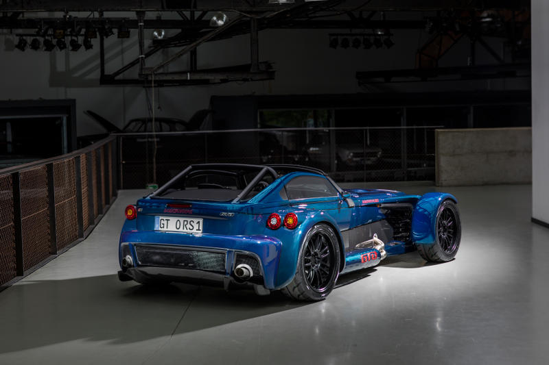 Donkervoort Blue D8 GTO RS Bare Naked Carbon Edition Blue Cars Toys Vehicles Supercars Luxury