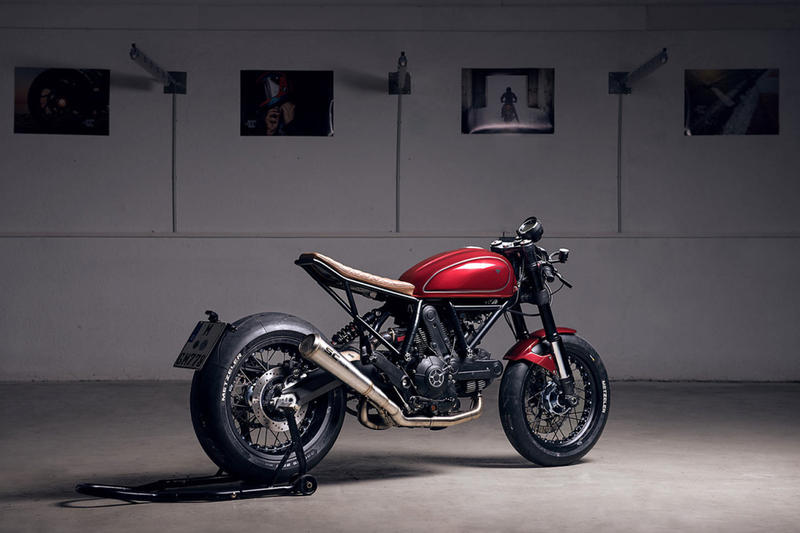 Diamond Atelier Creates Custom Ducati Scrambler Sixty2