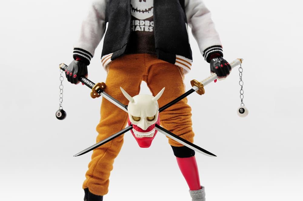 Easy Demons Club Hannya Boy Collectible Figure Glitch Vinyl Toys Streetwear Illustrations Japan