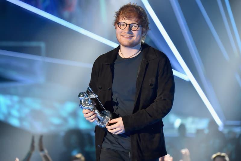 Ed Sheeran VMA Artist of the Year Award
