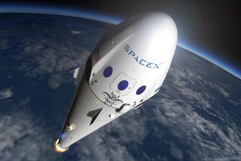 Elon Musk Shows Off SpaceX Spaceship Launch Animation