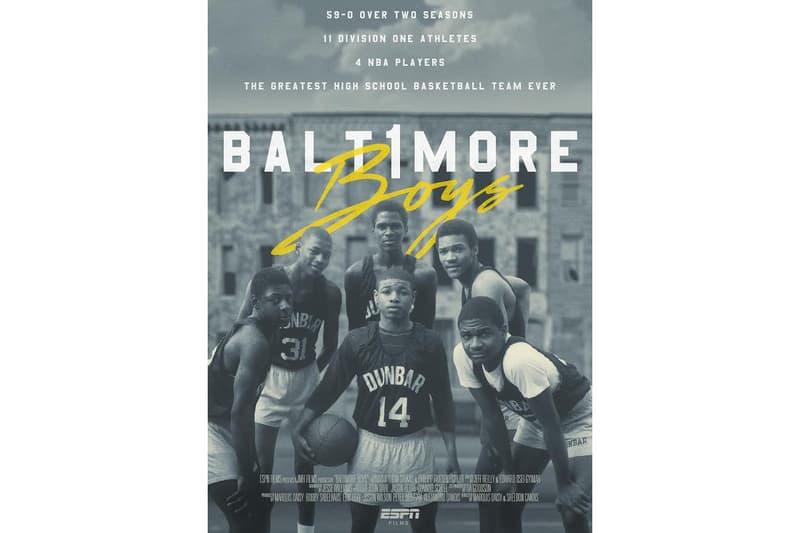 Baltimore Boys ESPN 30 for 30 Trailer