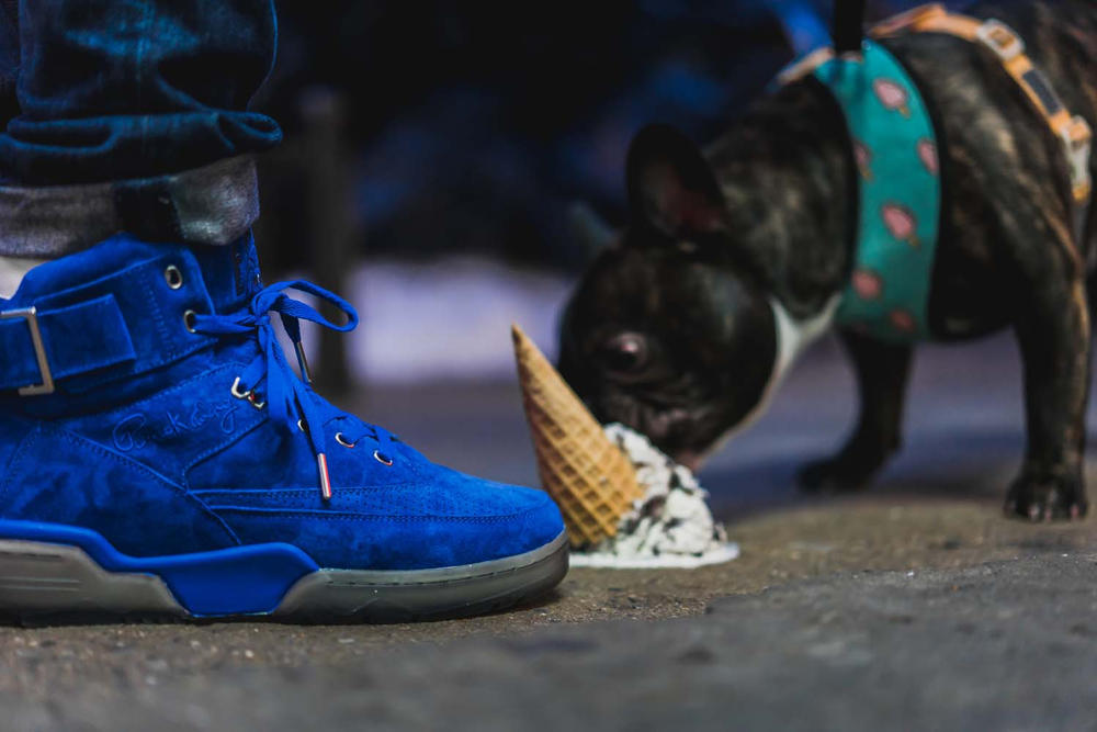 Ewing Athletics Mikey Likes It Ice Cream 33 Hi Harlem LES Patrick Chewing Blue Clear Sole