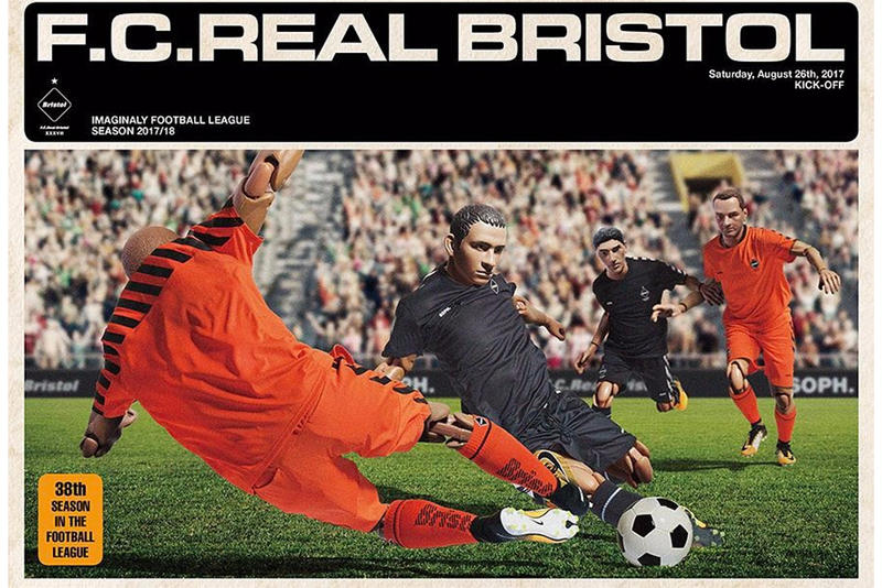 F.C. Real Bristol Teases New Collection Retro Football Posters Soccer