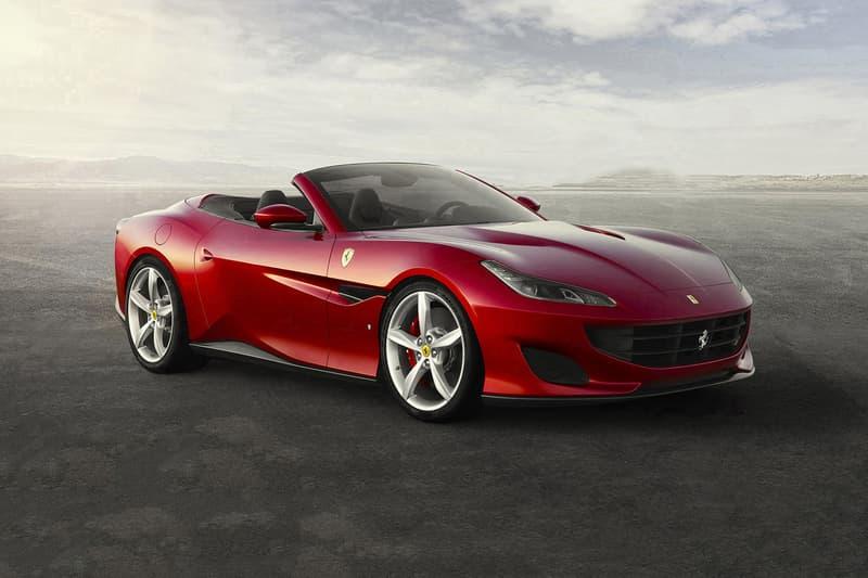 Ferrari Portofino Frankfurt Motor Show 2017 August 23 V8 GT