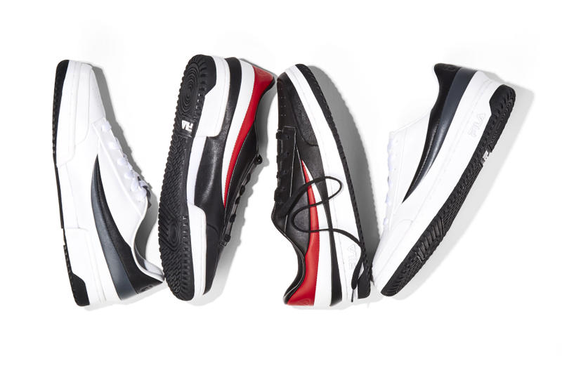 FILA Barneys New York Exclusive Capsule Collection Apparel Footwear Sneakers Shoes 2017 August Release Date Info