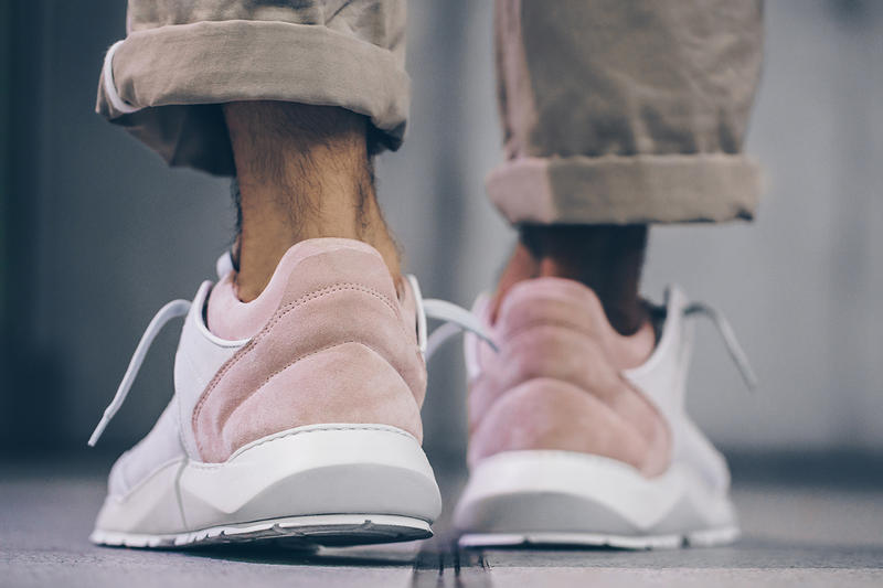 Filling Pieces Low Legacy Arch Runner White Pink Grey Solebox Sneakers Shoes