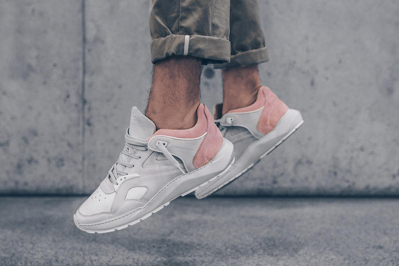 8f273899b7ce71 Filling Pieces Low Legacy Arch Runner White Pink Grey Solebox Sneakers Shoes