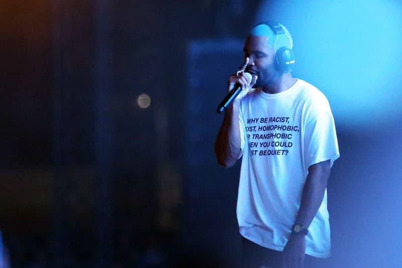 Frank Ocean Way Out West 2017 Fest Performance