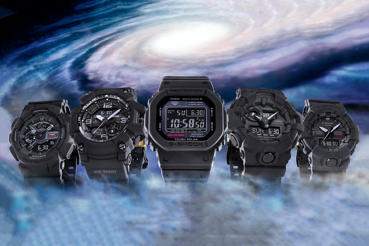 finest selection 0587d 98503 G-SHOCK Celebrates Its 35th Anniversary With Big Bang Black Watches